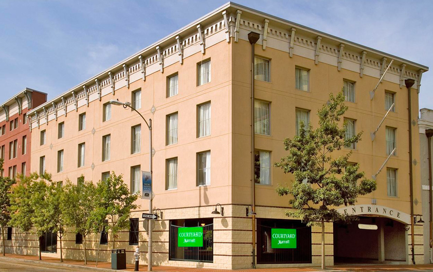 Courtyard by Marriott New Orleans Downtown/Convention Center ホテル イメージ
