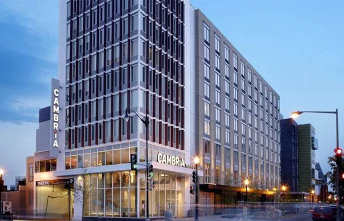 Cambria Suites Washington DC Convention Center ホテル イメージ